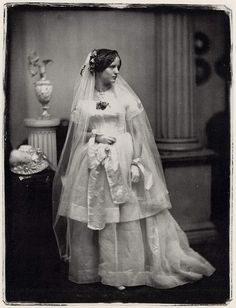 Portrait of a Bride - Southworth and Hawes,1850s