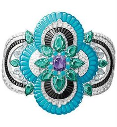 Pierres de Caractère Variations Newet bracelet (price on request; Van Cleef & Arpels)