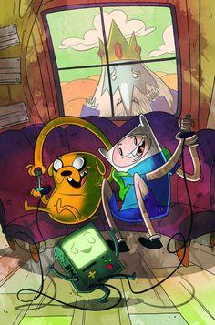 It's Adventure Time | Hora de Aventura