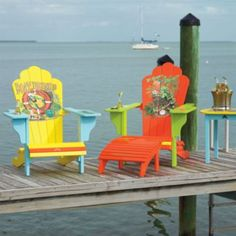 Margaritaville Outdoor Adirondack Chairs
