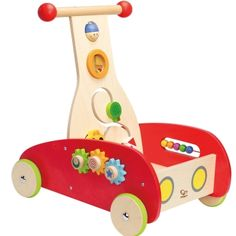 Discounted baby walker and toy off. Eco and Montessori toys Sensory play and Motor development. Wonder Walker by Hape Toys at Gilt Toddler Toys, Kids Toys, Infant Toddler, Hape Toys, Push Toys, Busy Boxes, Pushes And Pulls, Activity Toys, Baby Kind