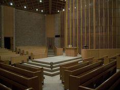 Firestone Baars Chapel, Stephens College, Columbia, Missouri - designed by St. Louis Gateway Arch architect Eero Saarinen