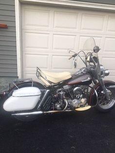 #harley 1961 Harley-Davidson Touring 1961 Harley Davidson FL Panhead please retweet