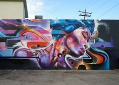 Mr cenz in Denver, Colorado, 2017 Hanging Pictures, Cool Pictures, Calico Ghost Town, Graffiti Characters, Amazing Street Art, Drawing Artist, Street Art Graffiti, Chalk Art, Street Artists