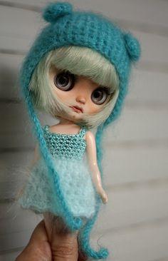 Selkie Middie Blythe custom doll by Buganville