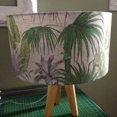 Just added this new Palm tree lampshade!