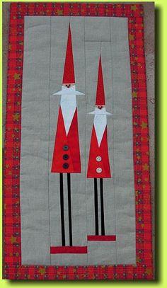 Wichtel Sabine B., based on Christmas elves pattern