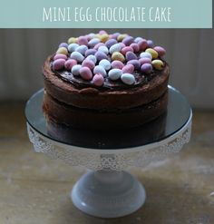 Mini Egg Chocolate Cake - Mummy Mishaps