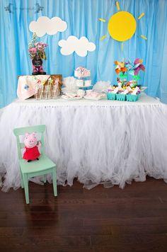DIY Peppa Pig Picnic Birthday Party   Five Marigolds
