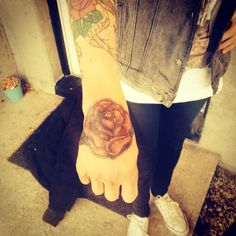My lovely hand rose!