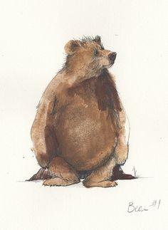 erin. e. stead, 'bear study'