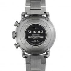 THE BLACK BLIZZARD 48mm Titanium Chronograph Watch