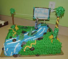 3D Cake Decorating: A jungle birthday cake