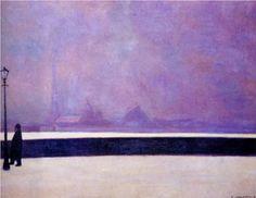 Felix Vallotton - Neva, light fog [1913]
