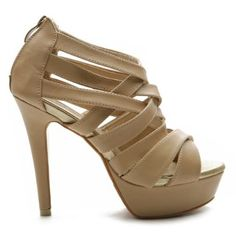 Ollio Womens Shoes Platform High Heels Multi Colored Sandal,Sale Price $22.99 [Click On Image For Details]