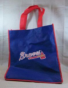 Atlanta Braves MLB Network Tote Bag #AtlantaBraves