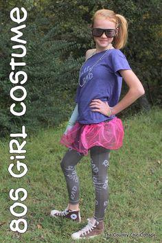 80s girl costume