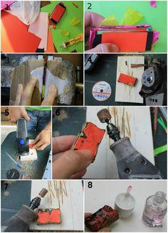 Come creare un anello di cartoncino e carta – Is laura