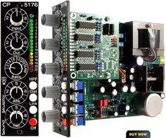 Sound Skulptor - CP5176 : DIY FET Compressor, DIY Microphone Preamplifier, Class A Mic Pre, Vintage Transformer Preamp, Professional Audio K...