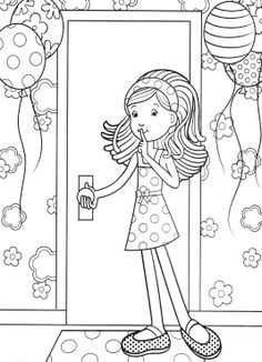 Surprise For Groovy Girls Coloring Pages