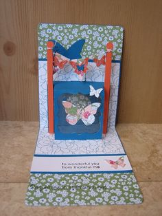 Pop N Cut Snippets collection with Stampin Up products.