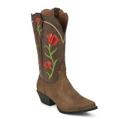 Justin Women's Stampede Rowdy Rose Western Boots $139.99 Boot Barn
