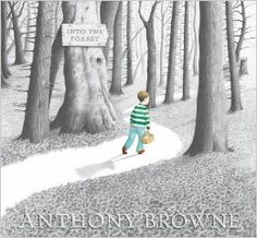 Into the Forest by Anthony Browne Discover the imagination of Hans Christian Andersen in this deeply imaginative and atmospheric exploration of a child's anxiety. Walker Books,2004. ... Anthony Browne, Forest Pictures, Picture Books