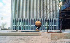 N.Y. City: World Trade Center, Plaza. Minoru Yamasaki