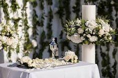 Αποτέλεσμα εικόνας για λαμπαδες γαμου Flower Decorations, Wedding Decorations, Table Decorations, Wedding Favors, Wedding Ceremony, Orthodox Wedding, Greek Wedding, Wedding Designs