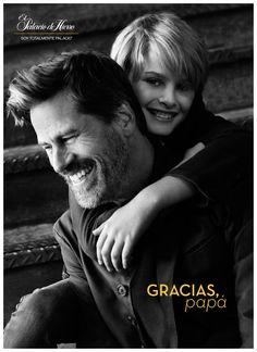 Mark Vanderloo Poses with Son for El Palacio de Hierro Fathers Day Shoot