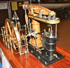 Stuart Models steam beam engine