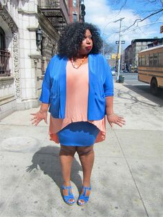 love street fashion in all sizes. @itsmekellieb has style for days!