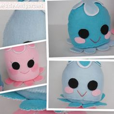 Handmade Felt Toys - Felt Jelly Fish - Cute Jelly Fish - Unique Toys For Toddlers - Sea Creatures Plush by MadeAmigurumi on Etsy https://www.etsy.com/au/listing/583711420/handmade-felt-toys-felt-jelly-fish-cute