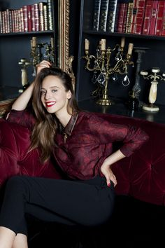 ALEXIA GREDY for SARENZA - LOULOU I LOVE YOU Parisian Girl - French Style