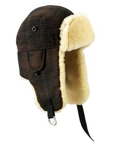 97f2d8e31c5 Hunt Trapper Plaid Wool Hat - Another Dog Walkers Essential for Winter