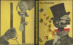 Archives-dada: John Heartfield, cover of Kurt Tucholsky,...
