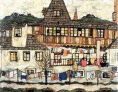 Painting by Egon Schiele (1890-1918), Austrian painter.