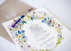 Invitaciones silvestres by www.luciabe.com