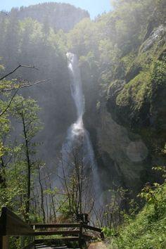 Reichenbach Falls in Meiringen, Switzerland