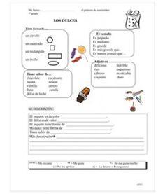 kindergarten spanish learning worksheet printable learn spanish pinterest spanish and. Black Bedroom Furniture Sets. Home Design Ideas
