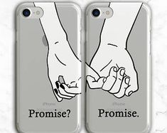 Couples Phone Case iPhone 8 Plus Case X 7 Samsung Bff Iphone Cases, Bff Cases, Couples Phone Cases, Couple Cases, Funny Phone Cases, Diy Phone Case, Best Friend Cases, Friends Phone Case, Best Friends
