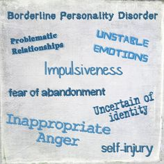 Skittles In The Pit: Borderline Personality Disorder #BPD