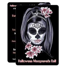 elegant modern halloween cinco de mayo invitation - invitations custom unique diy personalize occasions