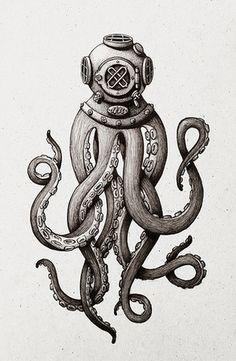 Octopus diver//