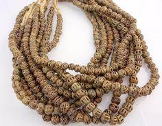 African Brass Beads--  Brass Trade Beads (BB-243)