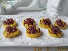 polenta cipolle caramellate