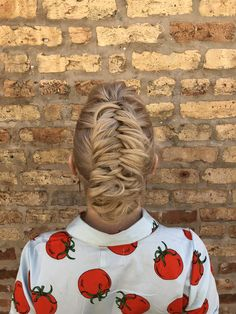 dutch braided updo | hairstyle by goldplaited