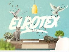 Elrotex Brush is a great free Font for any creative project. Catch this cool brush typeface of two fonts that will help you to bring a beautiful handcrafted look in your design.