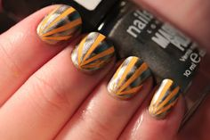 Polish All the Nails: Who Says You Can't Combine Magnetic Polish and Tape?
