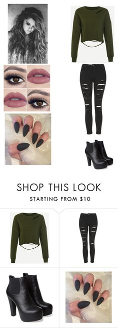 """""""yes girl-Bea Miller"""" by smollllbeannnn ❤ liked on Polyvore featuring Topshop"""